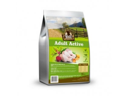 wuff adult active