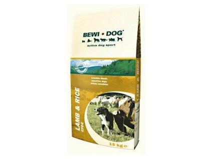 Bewi Dog Lamb & Rice contains Linseed - nová receptura