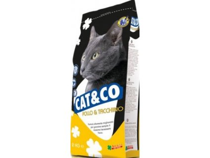 Cat & Co kuře a krůta 20 kg