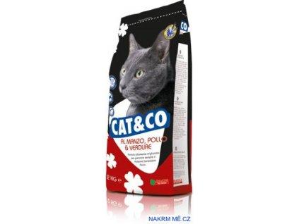 Cat & Co hovězí, kuře a zelenina 20 kg
