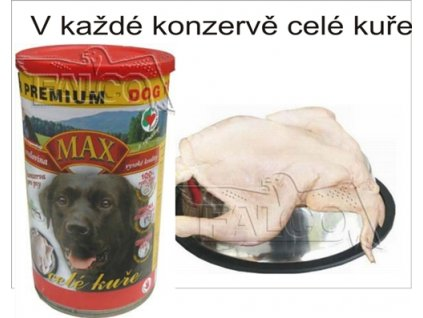 Max celé kuře 1300 g