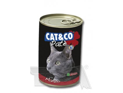 CAT&CO Paté 400 g - konzerva s mletým masem