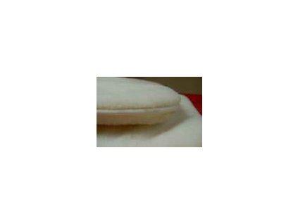 Vlněný antialergický pelíšek pro psa a kočku bílý