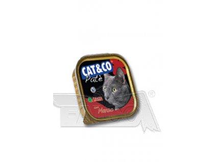 CAT&CO paštika hovězí 100g