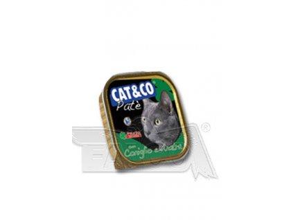 CAT&CO paštika kraličí s kachním 100g