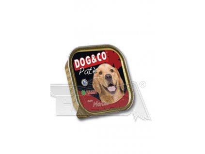 DOG&CO paštika hovězí 300g