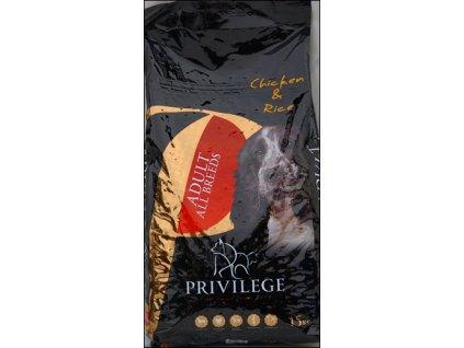 Privilege Adult All Breeds - Chicken + Rice 15 kg