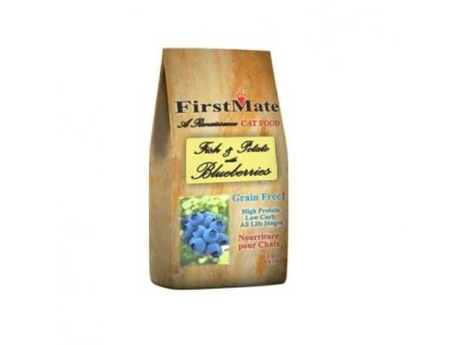 FirstMate Pacific Ocean Fish & Blueberry Cat