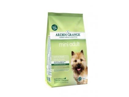 Arden Grange Mini Adult rich in fresh Lamb & Rice 2 kg