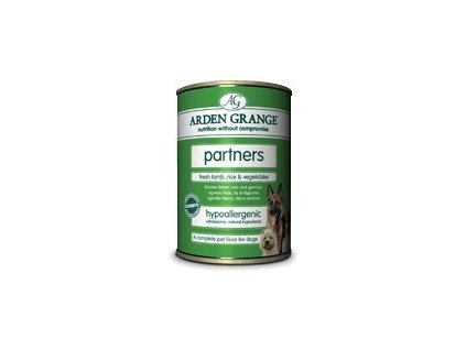 Arden Grange partners fresh lamb, rice & vegetables 395 g