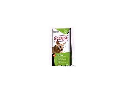 Golosi Cat Tri Mix (kuřecí maso, hovězí maso a ryba) 15 kg