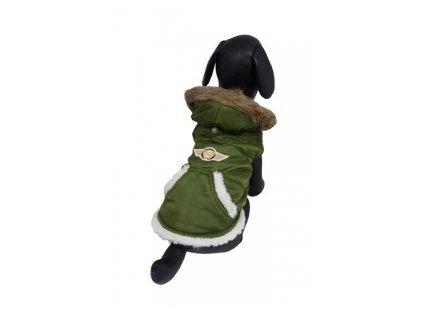 BUNDA PILOT - bunda s kapucí