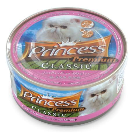 PRINCESS PREMIUM 170 g varianta: PRINCESS PREMIUM kuře a tuňák s rýží