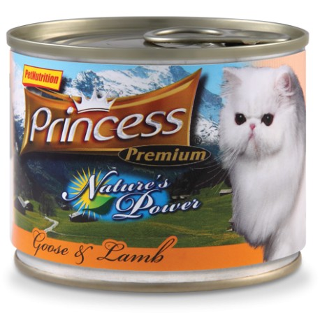 PRINCESS NATURES POWER 200g varianta: PRINCESS NATURES POWER kuře 200g