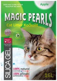 Kočkolit Magic Pearls Množství: 3,8 l