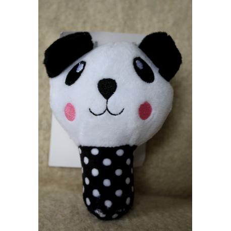 Pískací zajíček, pejsek, panda Množství: Zajíček 16 cm
