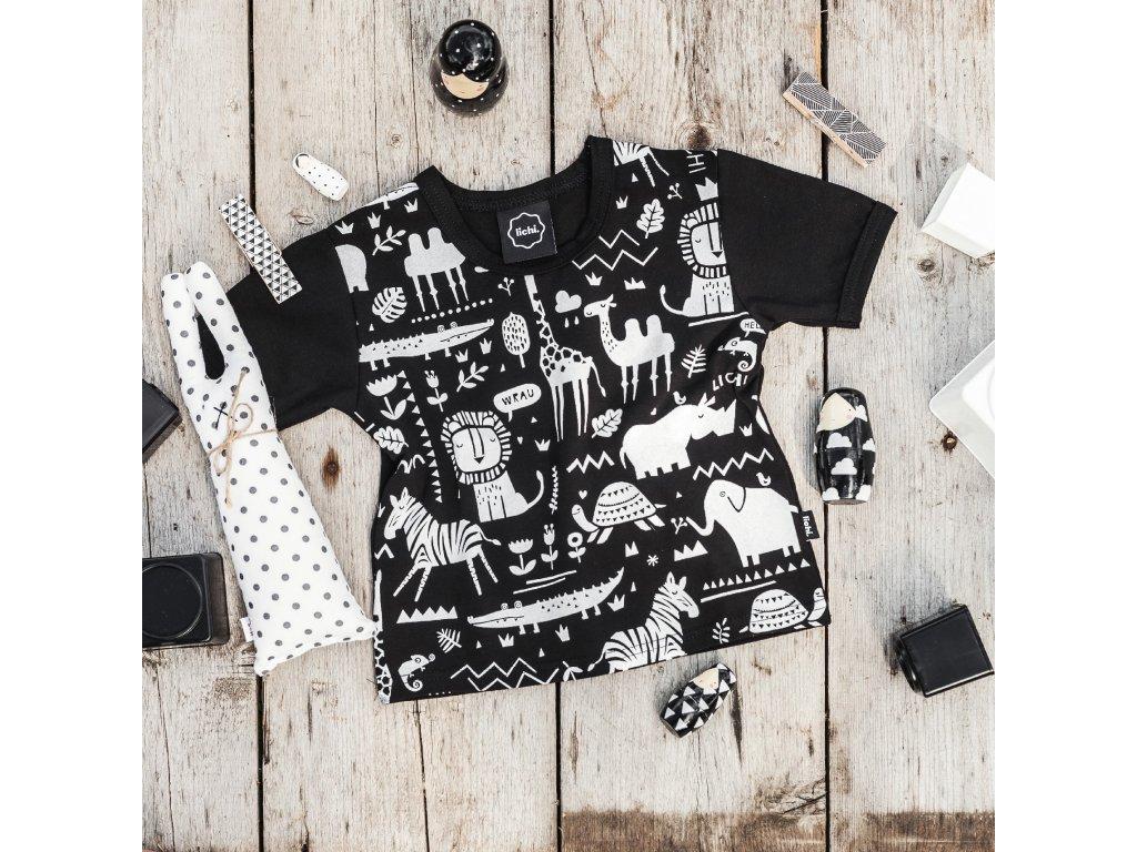 dětské tričko Africa