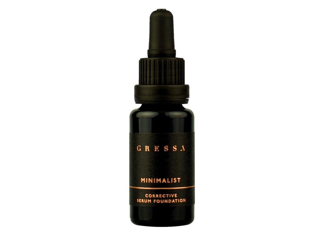 Gressa Minimalist Corrective Serum Foundation - Přírodní tekutý plně krycí makeup 15 ml