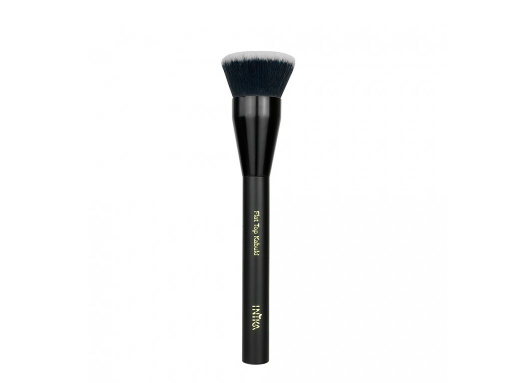 inika vegan brush flat top kabuki