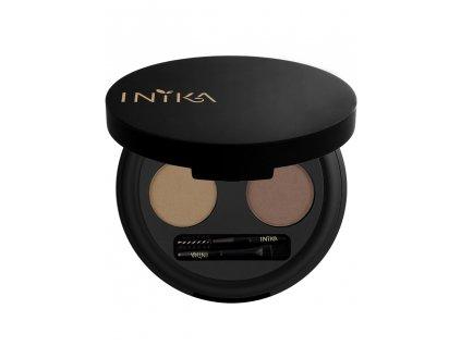 inika define brow palette chestnut 1
