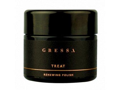 Gressa Skin Renewing Polish - Přírodní pečující medová maska 50 ml
