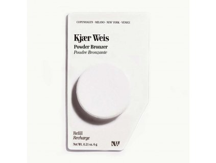 Kjaer Weis Luxusní Bio certifikovaný pudrový bronzer náplň 6 g