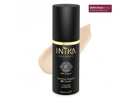 inika certified organic bb cream porcelain 30ml with product (1)