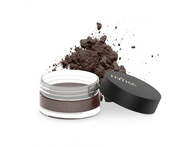 INIKA Loose Mineral Eye Shadow 1.2g Coco Motion With Product