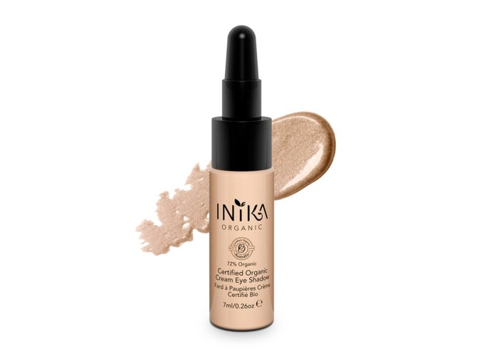 INIKA Certified Organic Cream Eye Shadow 7ml Pink Cloud With Product