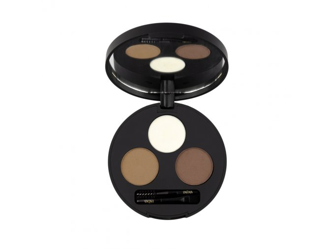 inika organic brow pallete chestnut top 1