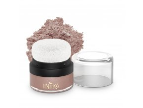 INIKA Mineral Puff Pot 3g Pink Petal With Product