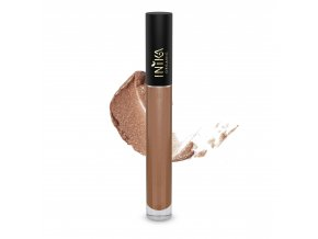 INIKA Certified Organic Lip Glaze Cappucino 3.5g With Swatch