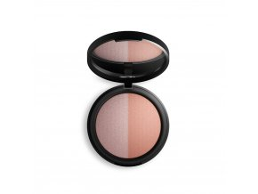 inika baked mineral blush duo 8g top pink tickle 1