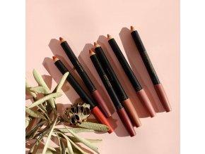 inika lipstick crayon deep plum 1
