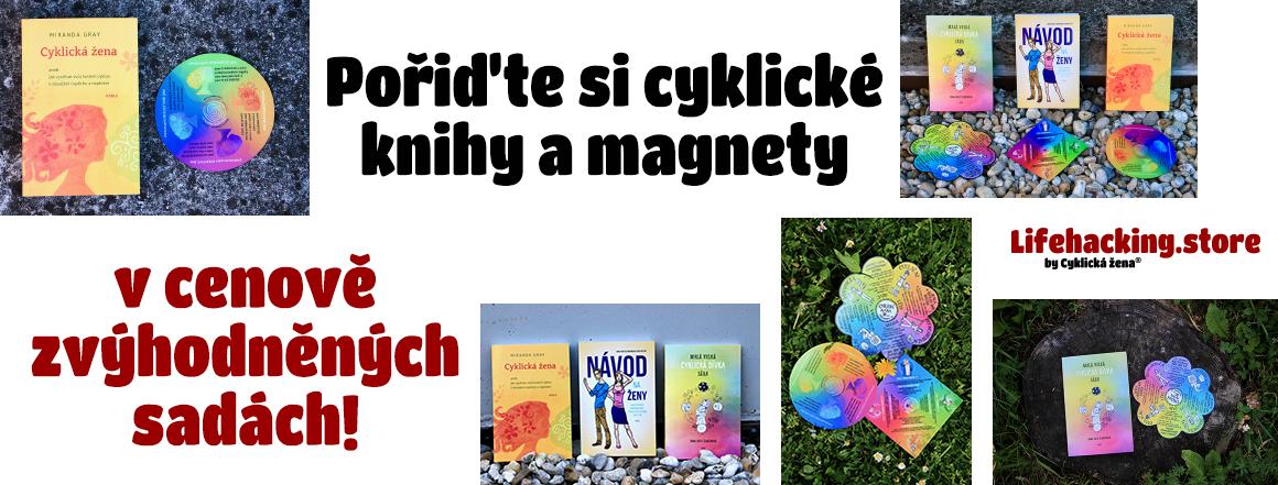 Cenově zvýhodněné sady cyklických knih a magnetů