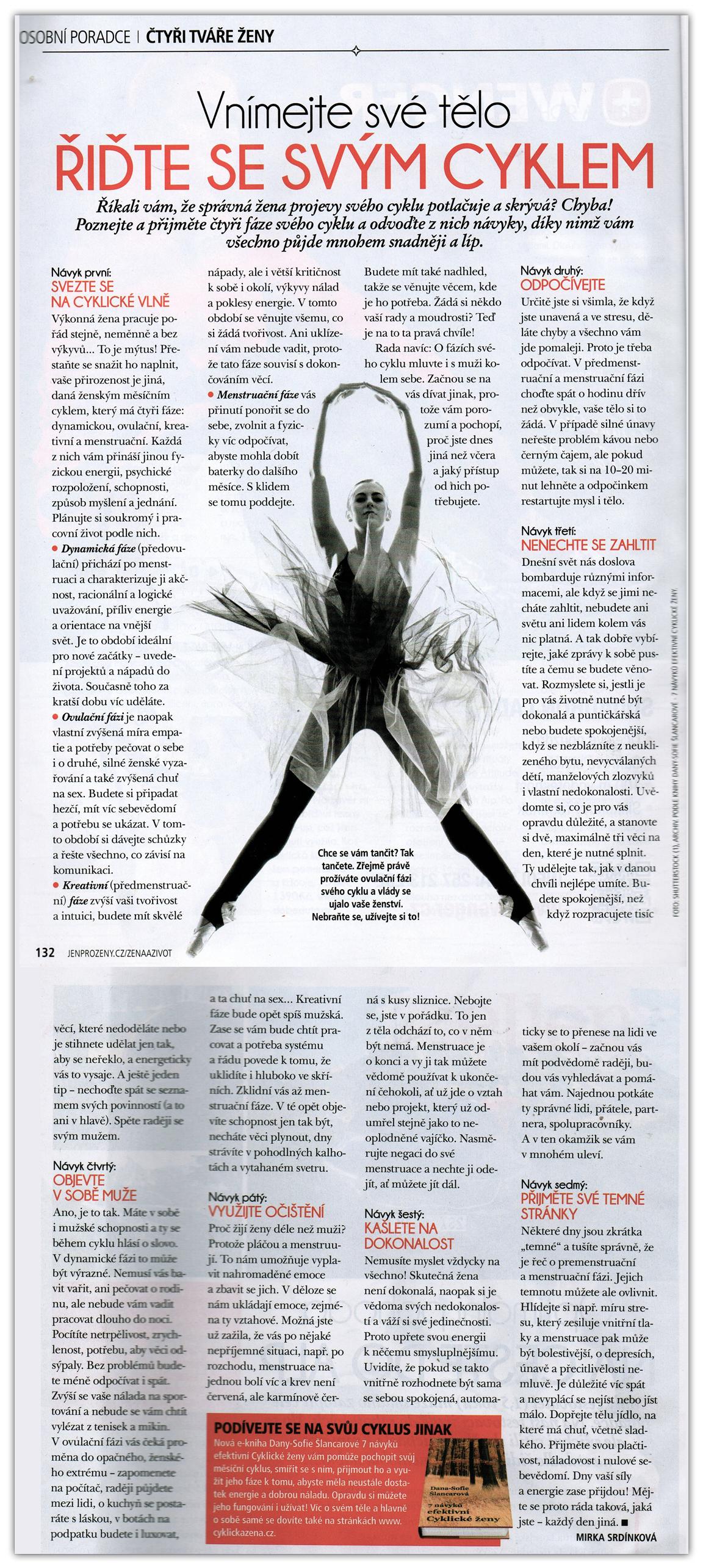 7 návyků v časopise Žena a život