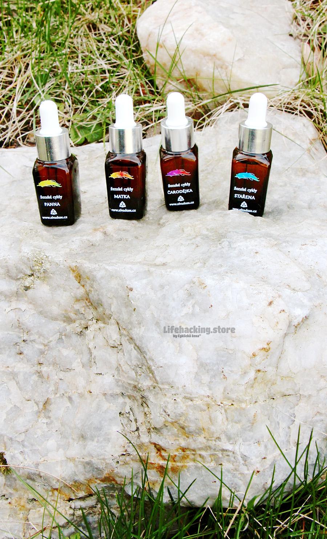 Aroma oleje pro všechny 4 fáze