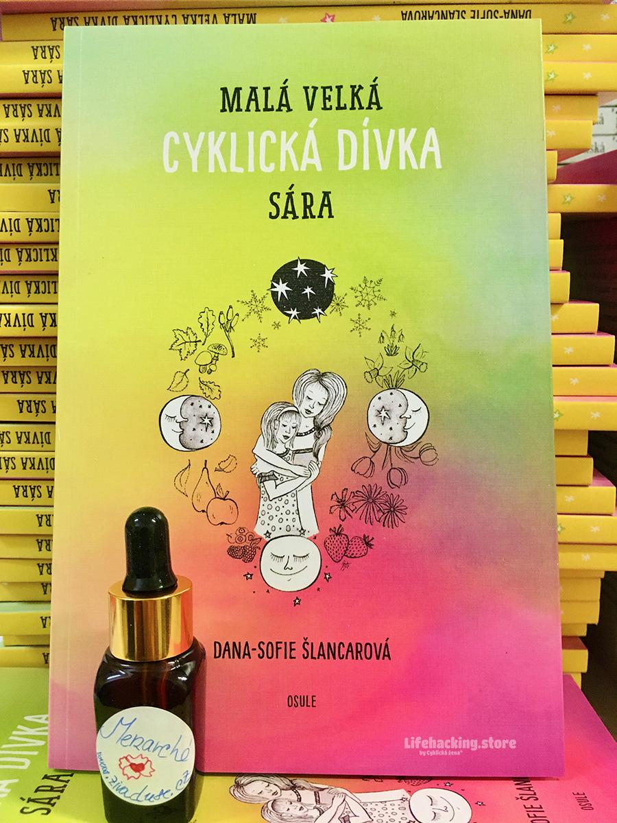 Aroma olej Menarché vznikl u příležitosti vydání Malé velké cyklické dívky Sáry