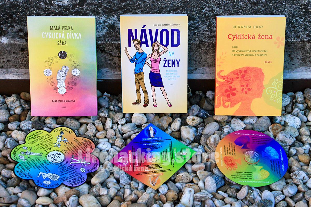Zvýhodněná sada 3 zásadních cyklických knih a 3 cyklických magnetů