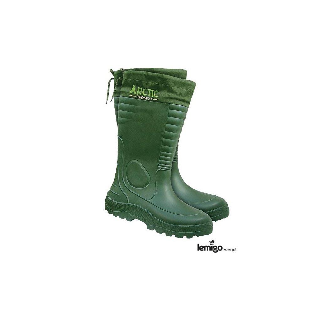 RW00-BLARCTIC Zateplená obuv (Farba Zelená, Veľkosť 44)