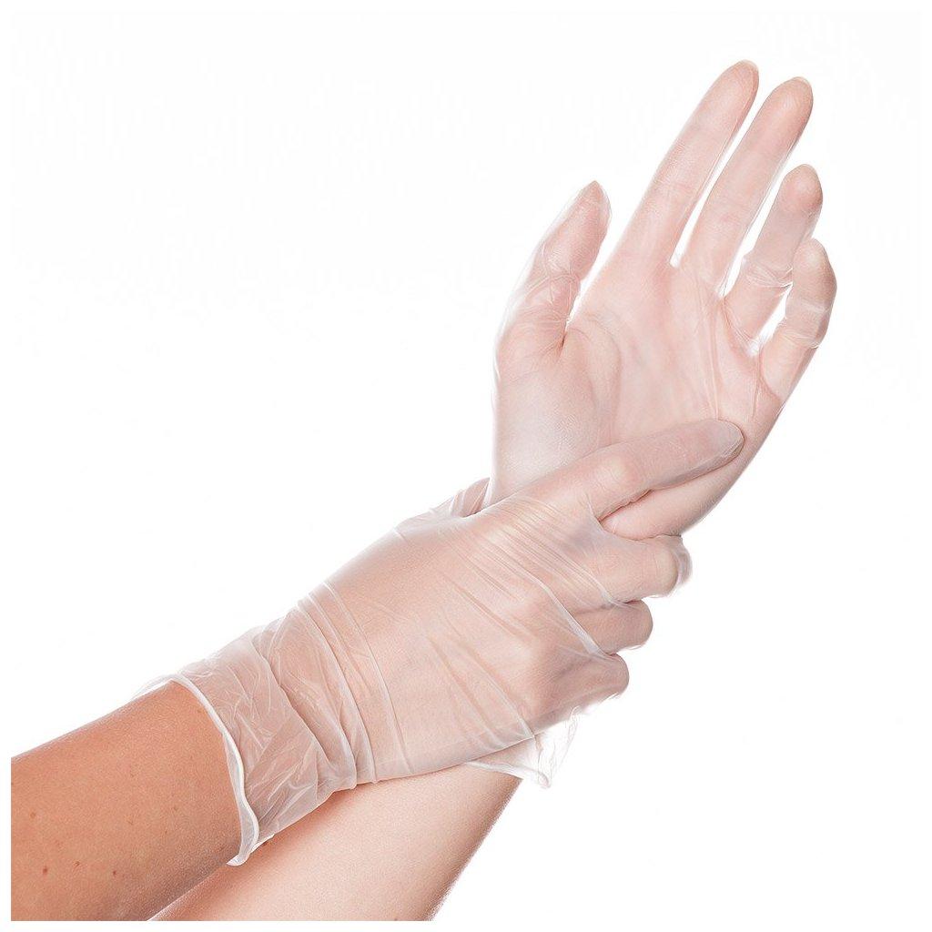 vivylové rukavice classic