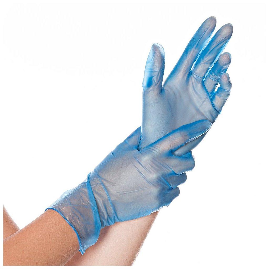 vinylové rukavice ideal
