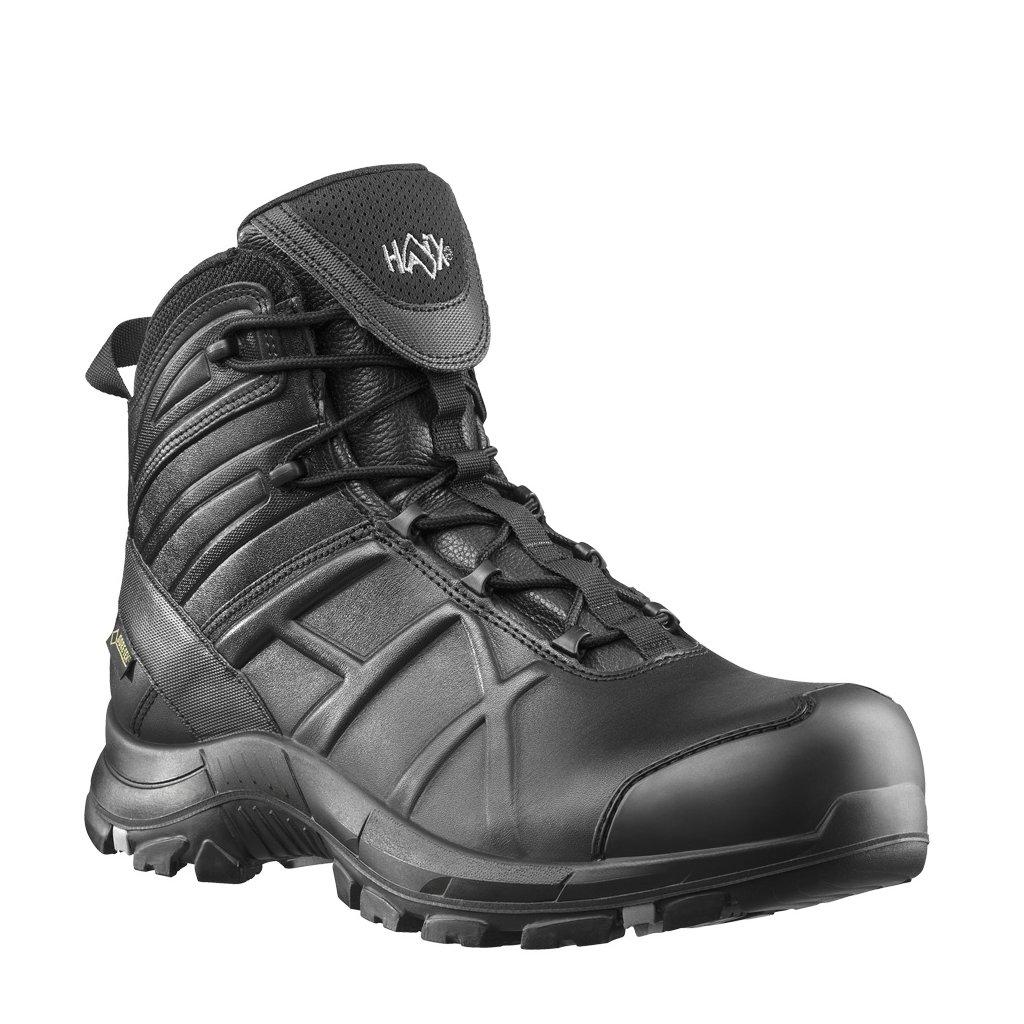 """Bezpečnostná GORE-TEX ESD obuv vysokej kvality s odľahčenou kompozitnou špičkou """"HAIX Black Eagle Safety 50 mid S3 36540"""""""