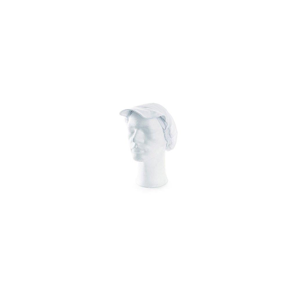 Kuchárska čapica NELA, biela