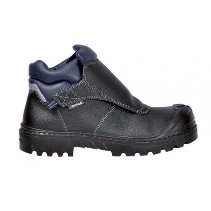 Bezpečnostná zváračská obuv pre zvárača profesionála COFRA WELDER BIS UK S3 HRO SRC : TALIANSKÁ VÝROBA (Veľkosť 47)