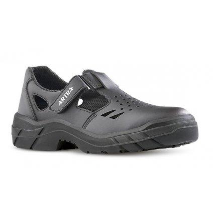 Kožené pracovné sandále bez oceľovej špičky ARMEN 900 6660 O1 FO SRC (Veľkosť 48)