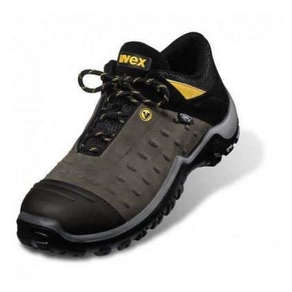UVEX ATC PRO: Poltopánka 9457 S3 HRO SRC (Veľkosť 48, Farba čierna)