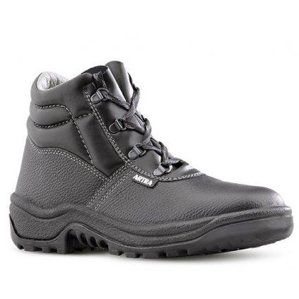 Kvalitná kožená bezpečnostná obuv S3 od výrobcu ARTRA v modele ARAUKAN 940 6060 S3 SRC (Veľkosť 48)