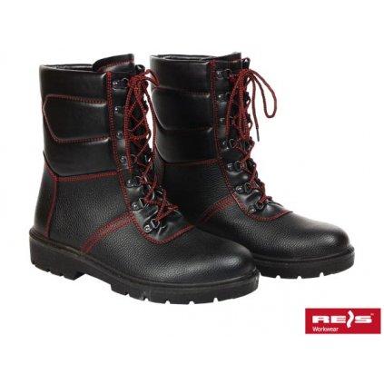 RW00 - BRWINTER Pracovná zateplená obuv (Veľkosť 47, Farba čierna)
