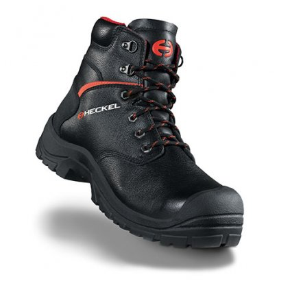 Vyššia členková bezpečnostná obuv so špičkou HECKEL MACSOLE EXTREM 2,0 - MACSILVER  6265000 (Veľkosť 48)
